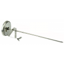 Metal Thermometer with Clasp